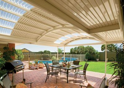 Patio Stratco Outback Cape Shades Bussetlon WA