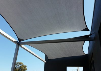 Shade Sail Installation Margaret River, WA